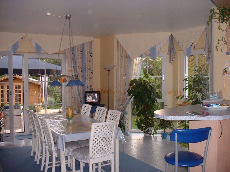 Italienische Landhaus Tapeten : ihre tapeten etage Gardinen Raffrollos und Schiebeelement Dekoration