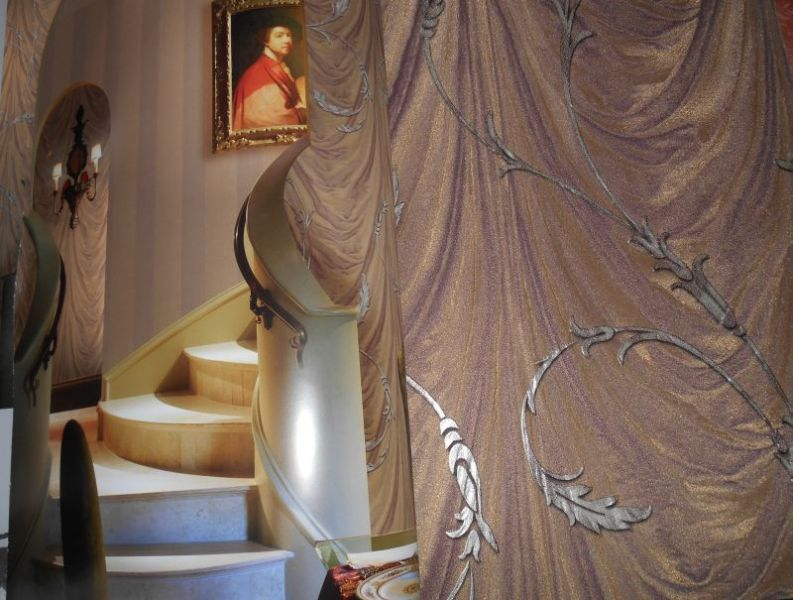Italienische Landhaus Tapeten : Englische und Italienische seidenglanz Tapeten – ihre tapeten etage